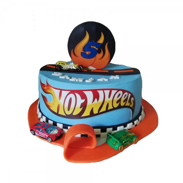 Decija rodjendanska torta Hot Wheels