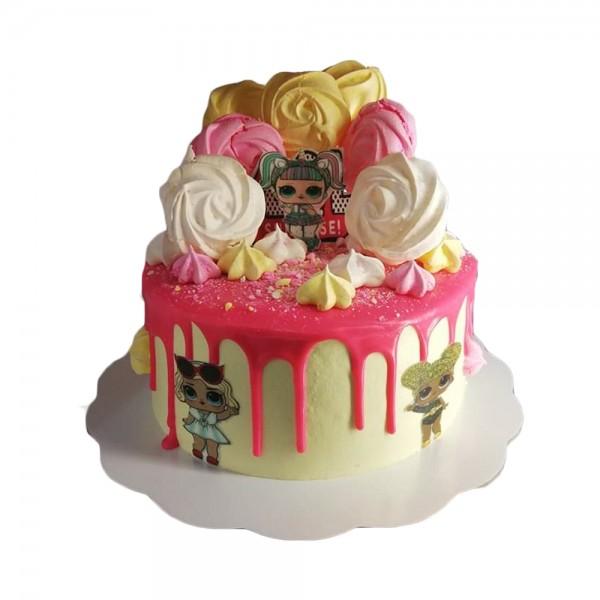 Pufnasta LOL torta