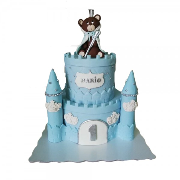Rodjendanska torta plavi zamak