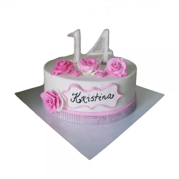 Rodjendanska torta za Kristinu