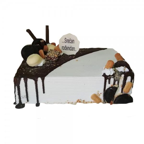 Simple slag torta