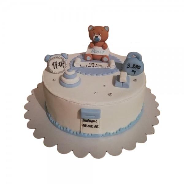 Srecno rodjenje torta sa medom