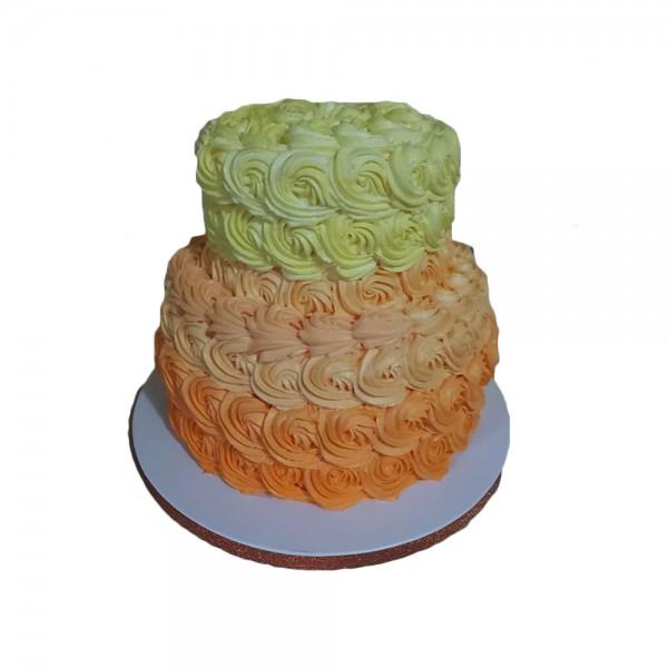 Svadbena torta u tri boje