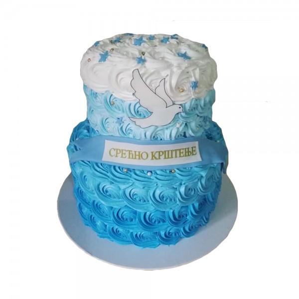 Svecana torta za krstenje 2