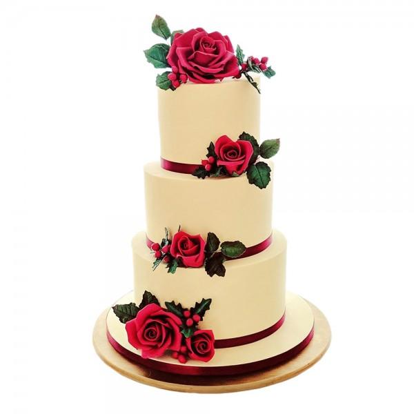 Elegantna krem torta za mladence