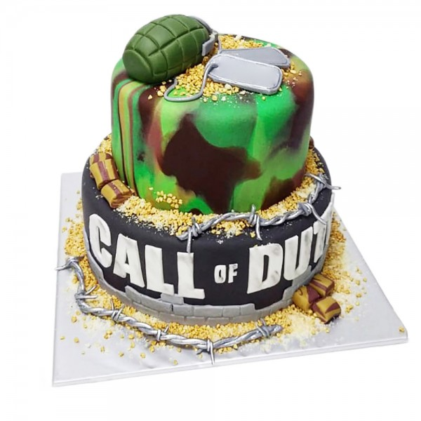 Rodjendanska torta Call of Duty