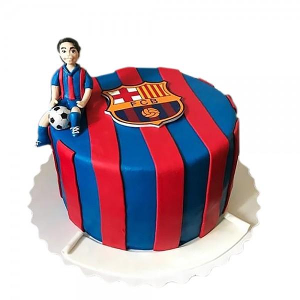 Torta za fudbalere Barcelona