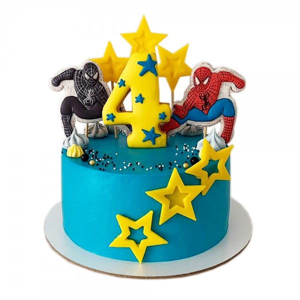 Decija torta dva Spajdermena