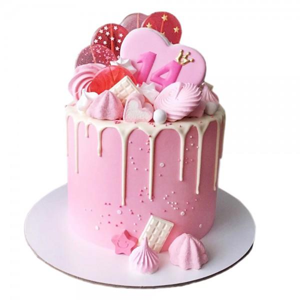 Rodjendanska torta za cetrnaesti rodjendan