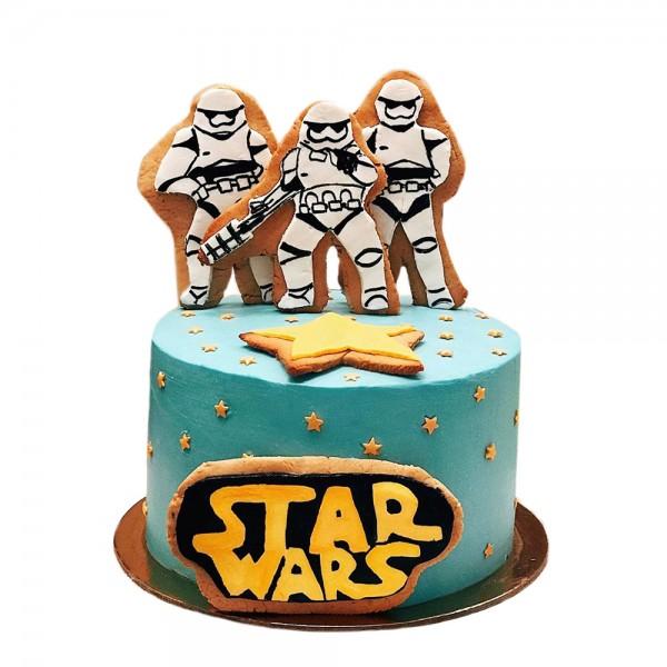 Decija rodjendanska torta Star Wars