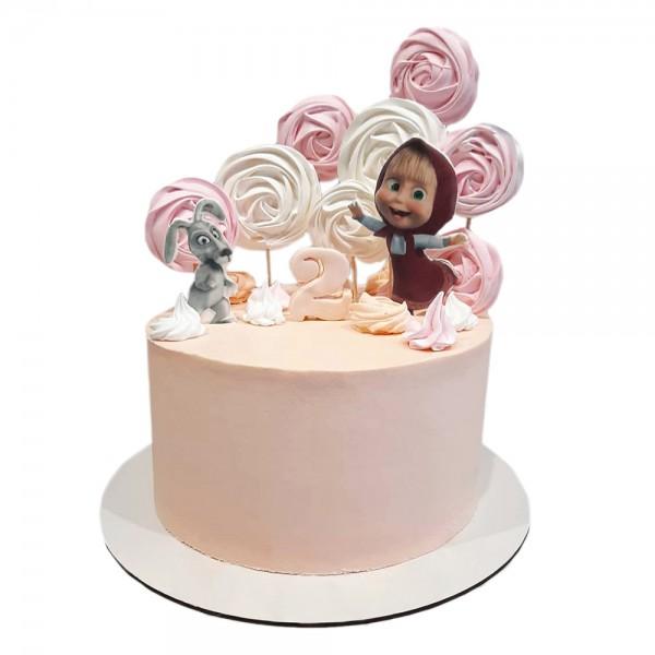 Decija torta Masa i zeka