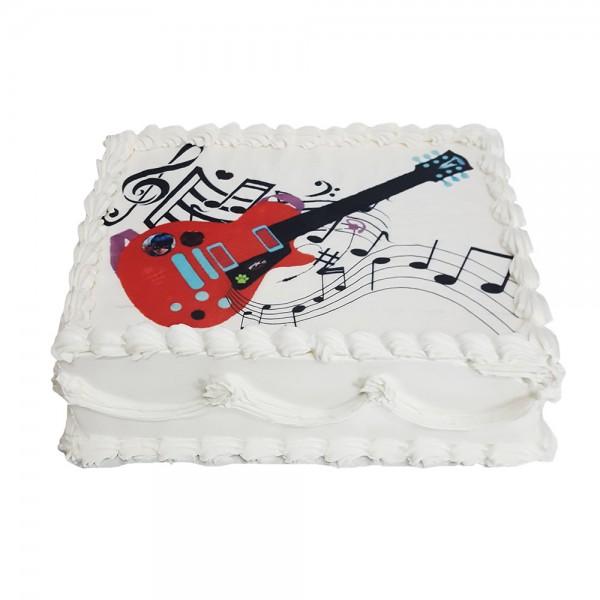 Torta sa slagom Gitara