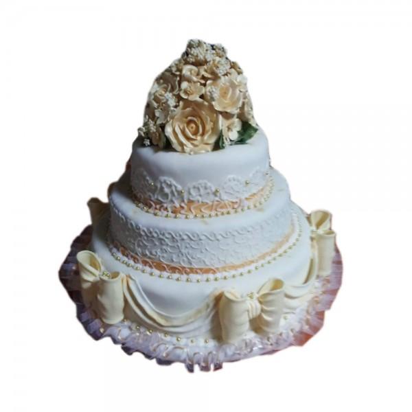 Klasicna mladenacka torta model 204