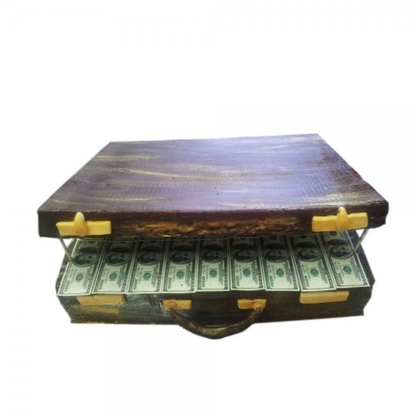 Rodjendanska torta Kofer pun dolara model 130