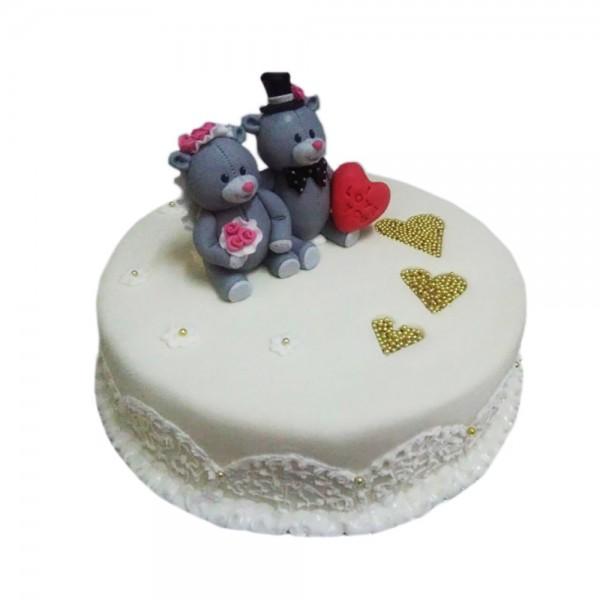 Rodjendanska torta male mede model 124