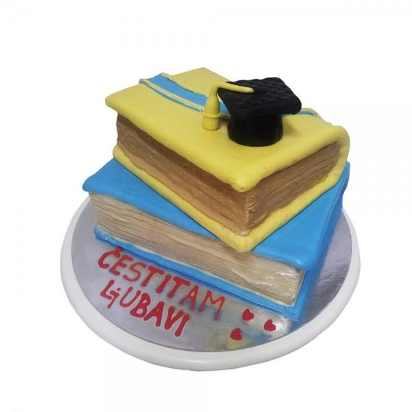 Torta za proslave mature model 125