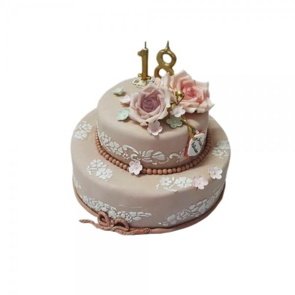 Torta za osamnaesti rodjendan model 129