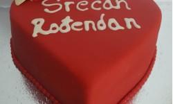 Torta Za Dan Zaljubljenih - U obliku srca